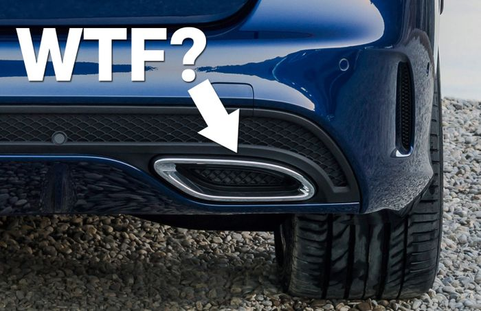 7 fake exhaust pipes that make