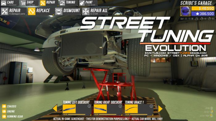 street tuning evolution moved