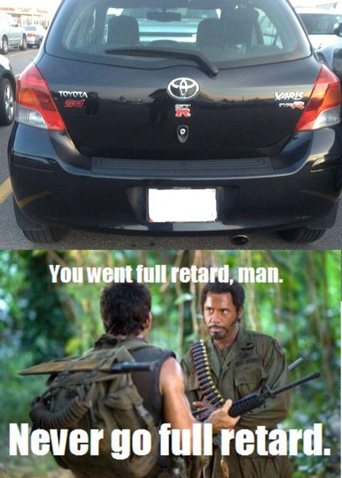 Never Go Full Retard Meme : never, retard, Never, Retard...just, Don't