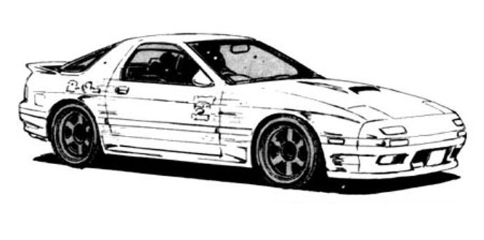 What are your favorite cars from Initial D? Here are mine!