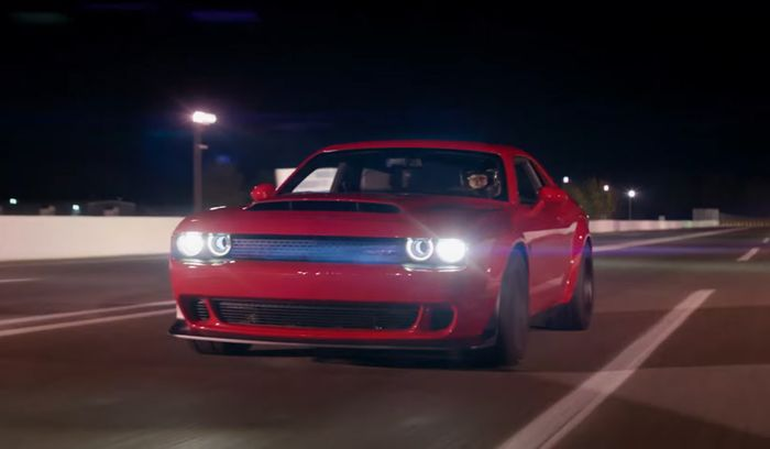 Automotive News Wants The Dodge Demon Banned Outright For