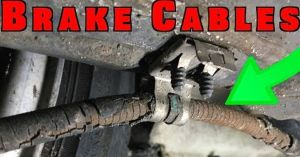 Replace and Adjust Parking Brake Cables