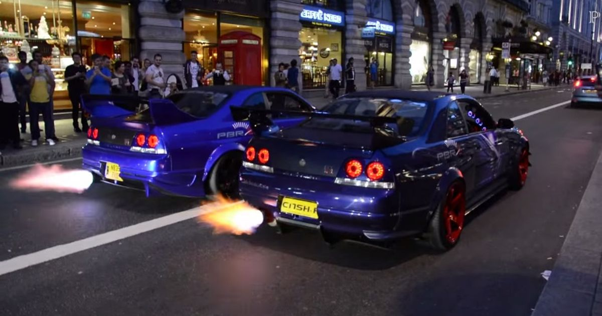 Car Spitting Flames Wallpaper How S This