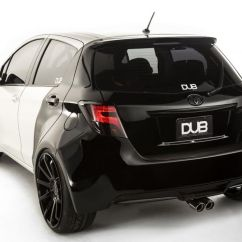 Toyota Yaris Trd Turbo Kit Sportivo Bekas This Widebody Dub Edition Is A We Can Get Behind