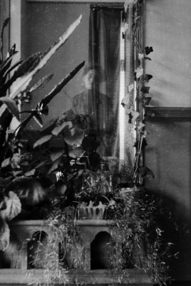 Edith Södergran, omakuva peilikuvasta.