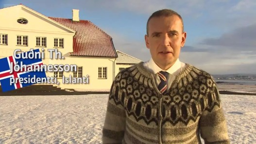 Uutisvideot: Islanti, presidentti Guðni Thorlacius Jóhannesson ...
