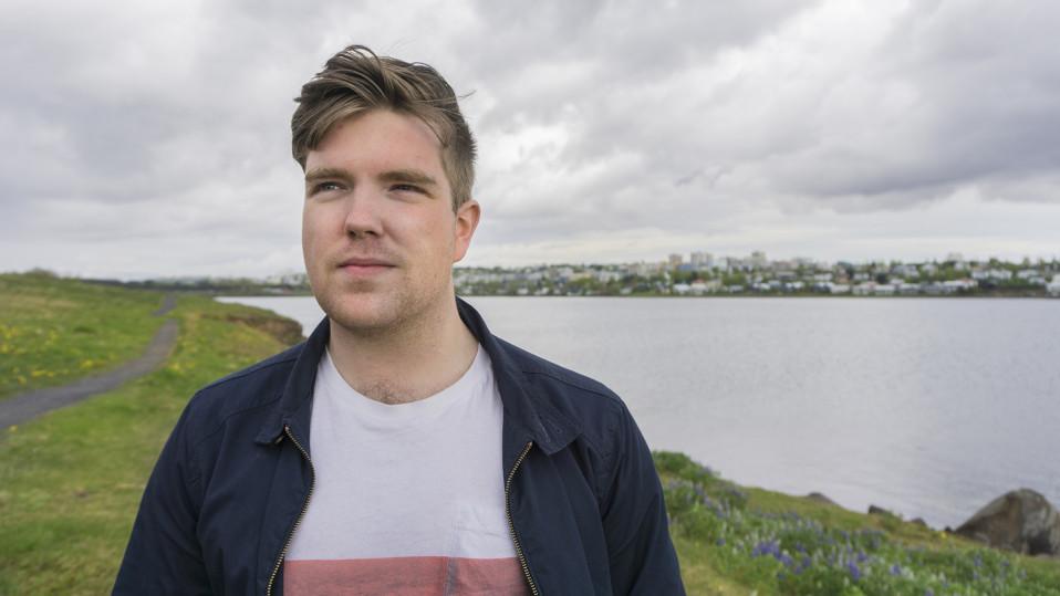 Bailasin muiden kanssa aamuun asti, Leó Snær Emilsson muistelee.