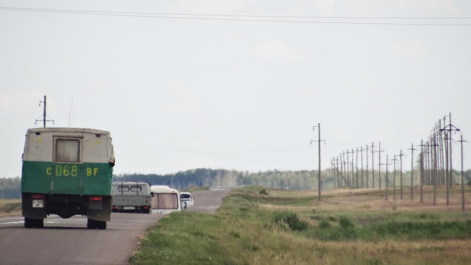Kazakstanissa on laajoja asumattomia alueita.