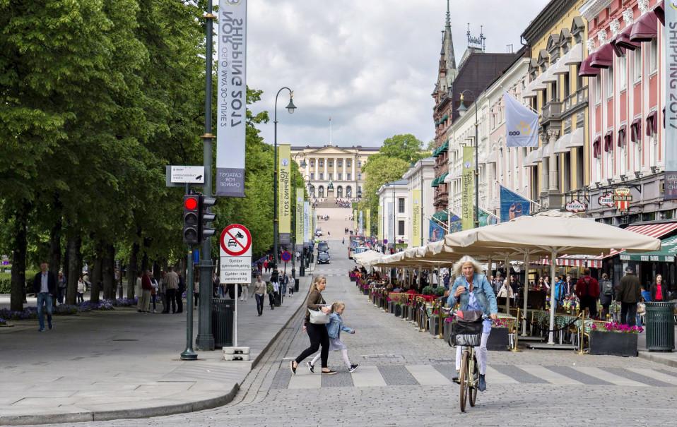 Oslo pyöräily