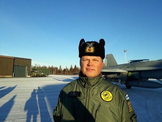 Nato jets over Finnish Lapland as Rovaniemi hosts major military exercise