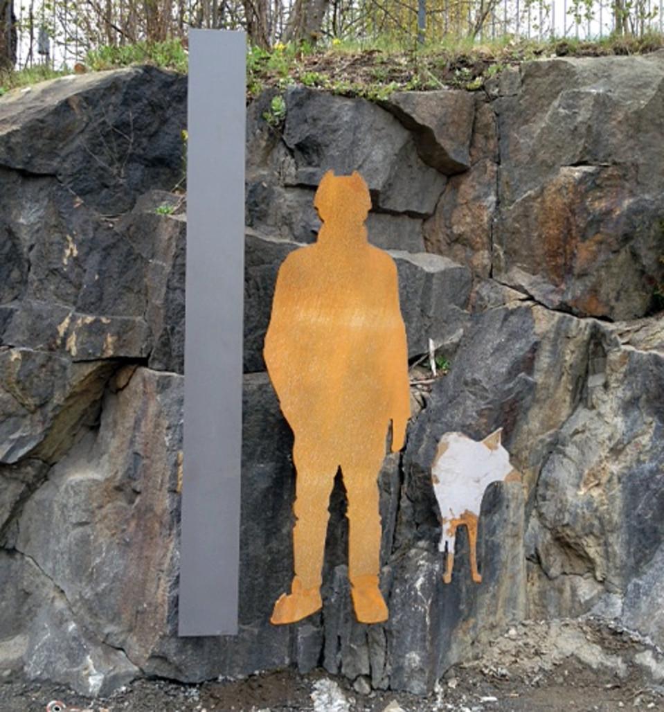 Kalle Päätalon muistomerkki Tampereella