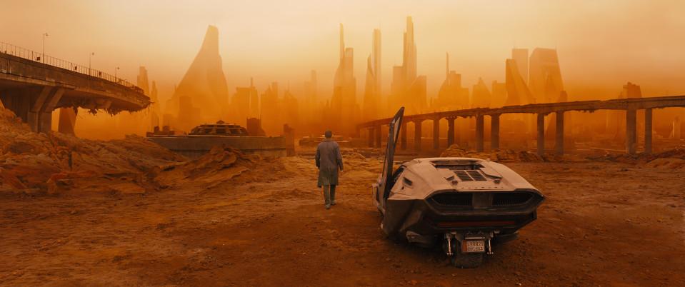 Maisema elokuvasta Blade Runner 2049.