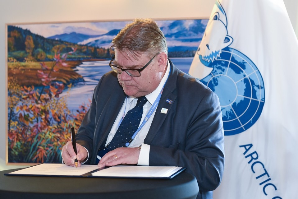 Ulkoministeri Timo Soini