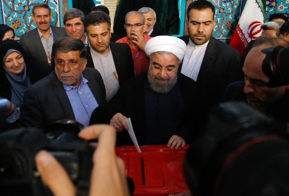 Iranin presidentti Hassan Ruhani