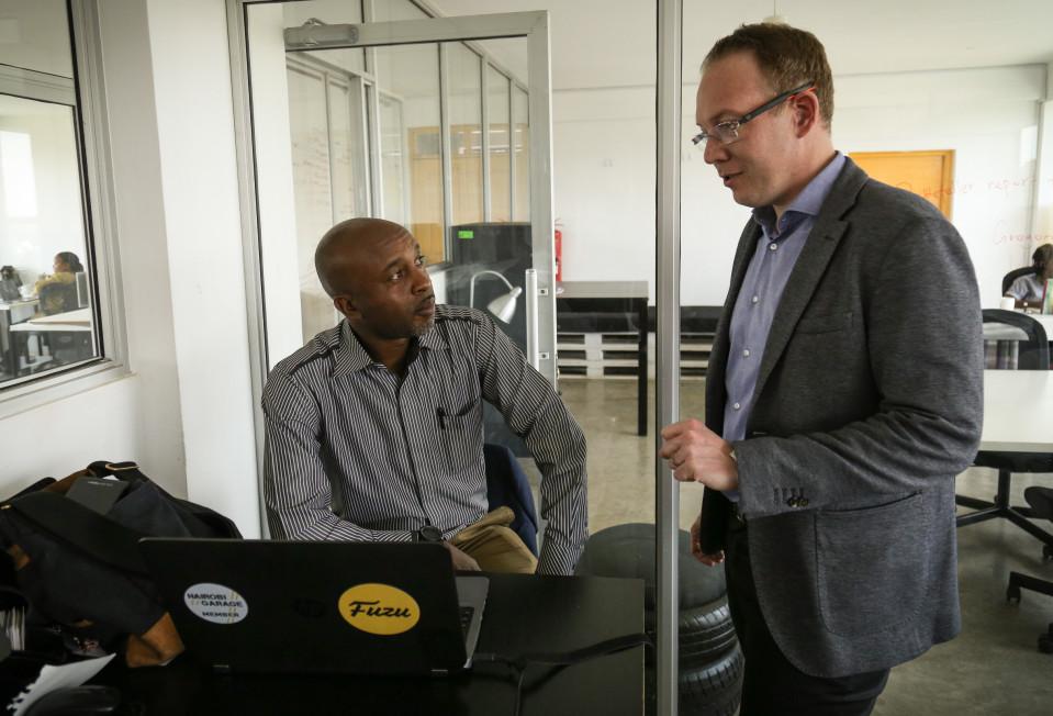 Fuzu nuorisotyöttömyys startup Kenia