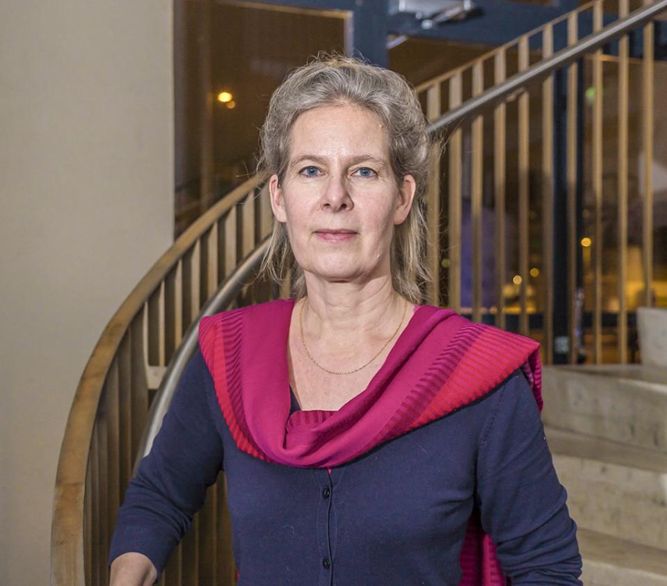 Rokotetutkija Hanna Nohynek.