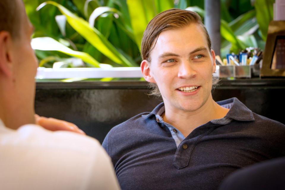 Suomalainen korkeakoulutus on hyvä valttikortti, startup-yrittäjä Antton Nordberg sanoo.
