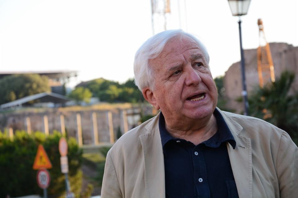 Il Comitato per la Bellezza -kansalaisjärjestön johtaja Vittorio Emiliani.