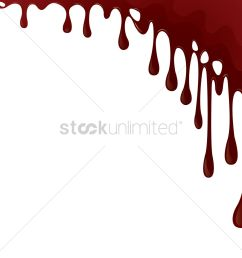 dripping blood background vector graphic [ 1300 x 1300 Pixel ]