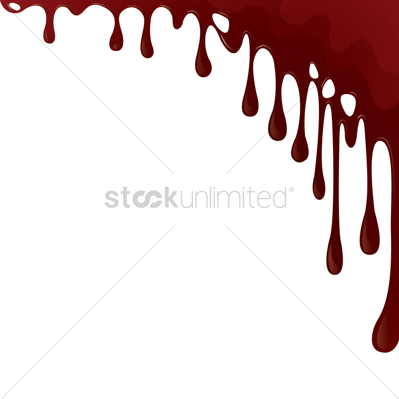 hight resolution of dripping blood background vector graphic