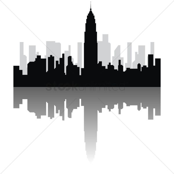 Empire State Building Vector - 1472687 Stockunlimited
