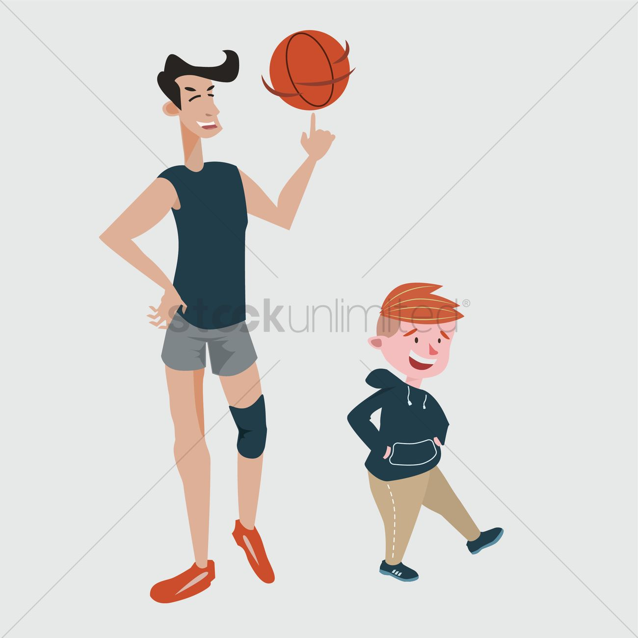 Tall And Short Comparison Vector Image