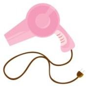 hair dryer vector - 1284427