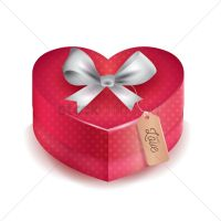 Gift box with ribbon Vector Image - 1935480   StockUnlimited