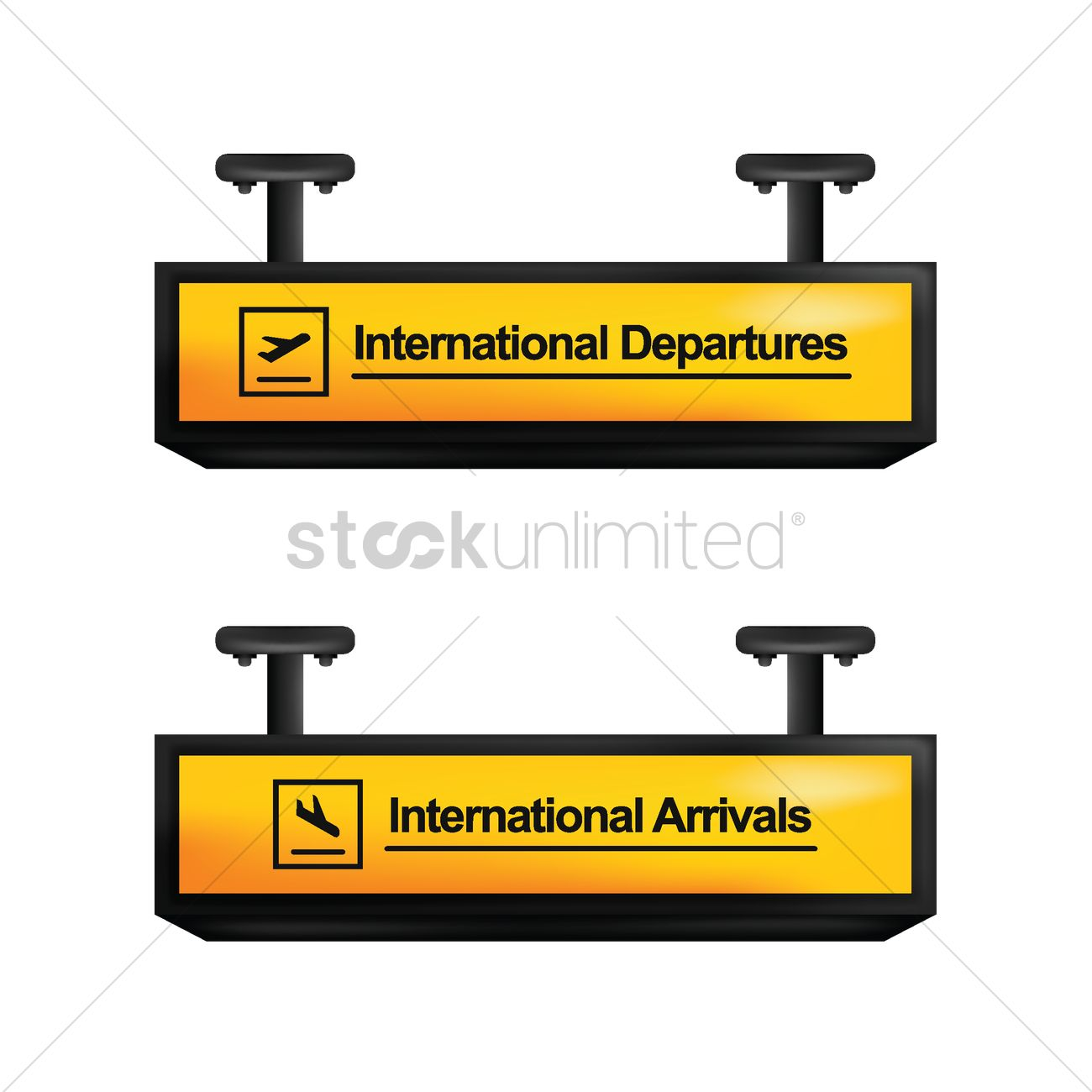 international arrival and departure