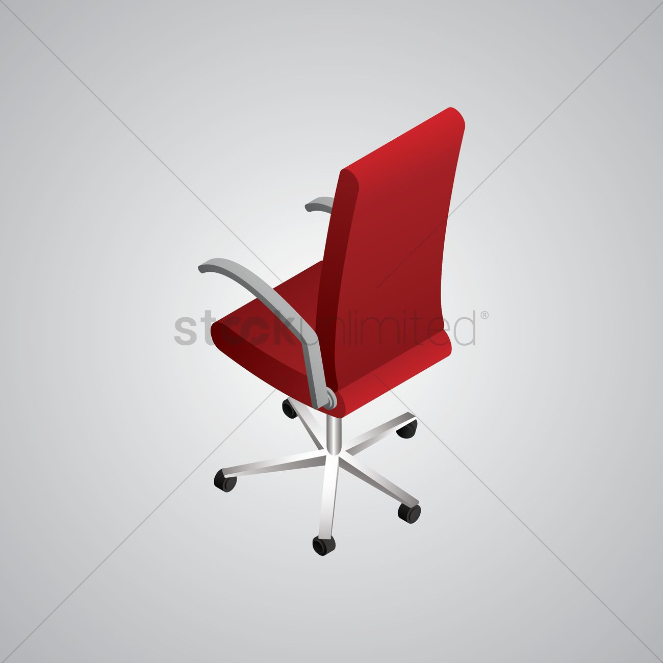 office chairs unlimited folding chair isometric vector image 1608144 stockunlimited