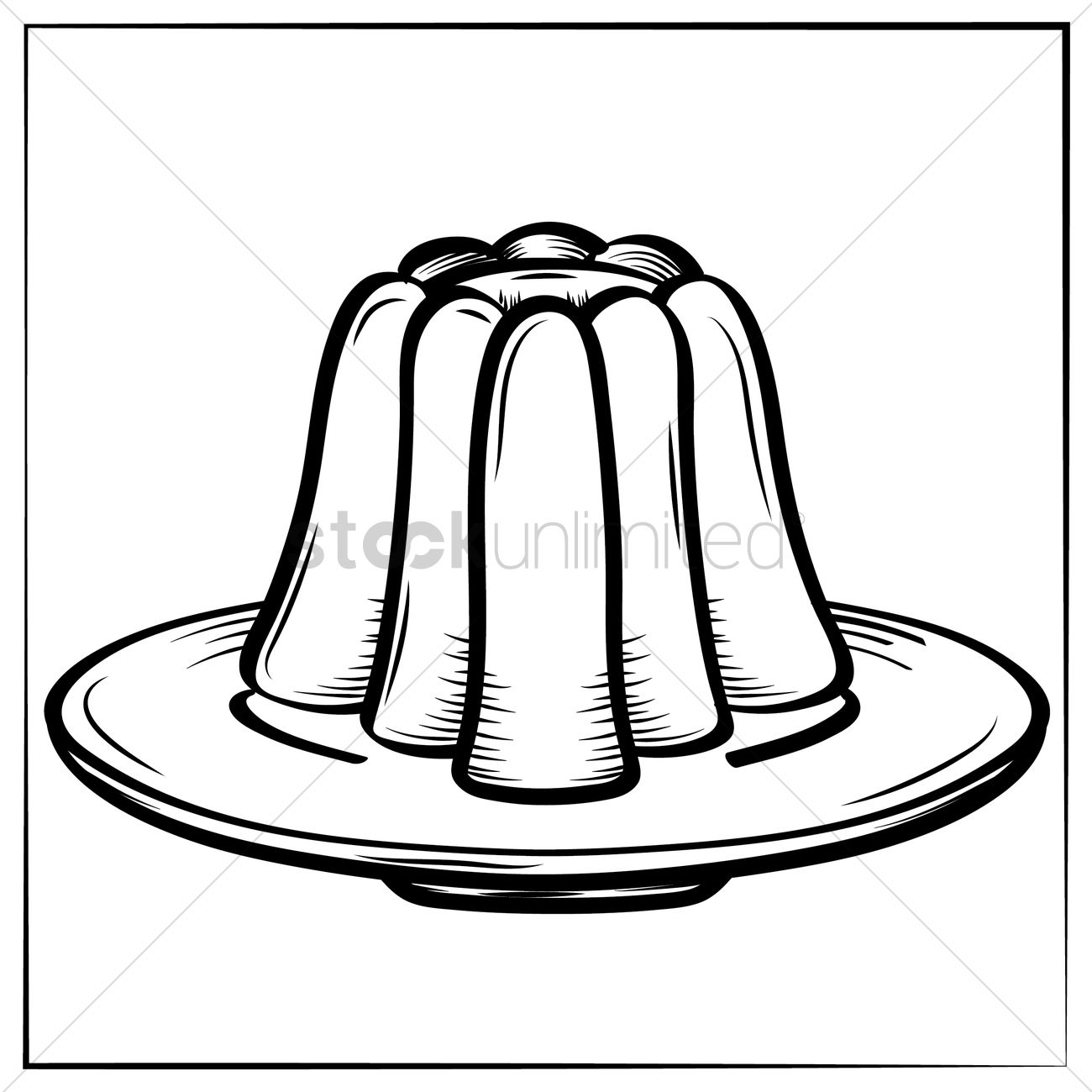 Jelly Vector Image