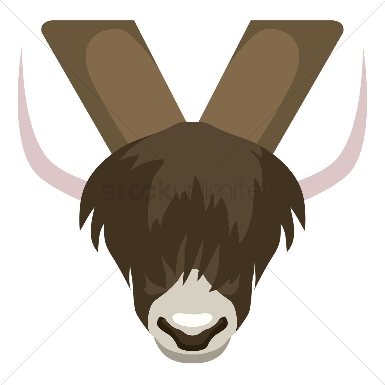 Free Letter Y For Yak Vector Image