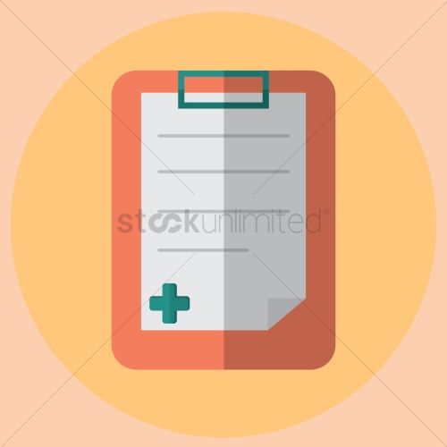 small resolution of free medical report vector graphic