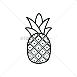 Pineapple Vector Image 1466560 StockUnlimited