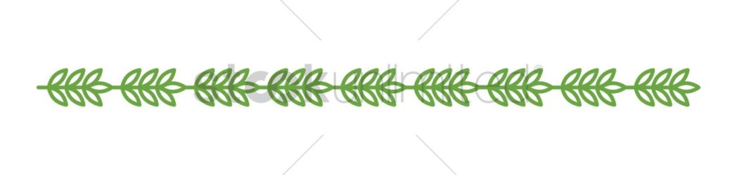 border leaf simple vector stockunlimited graphic illustration sign