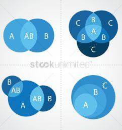 venn diagram infographic vector graphic [ 1300 x 1300 Pixel ]