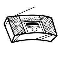 Icon Icons Boombox Stereo Ghetto Blaster Radio Recorder
