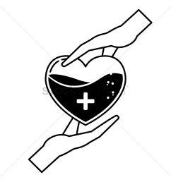 blood donation concept vector graphic [ 1300 x 1300 Pixel ]
