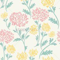 Floral background design Vector Image - 1995473 ...