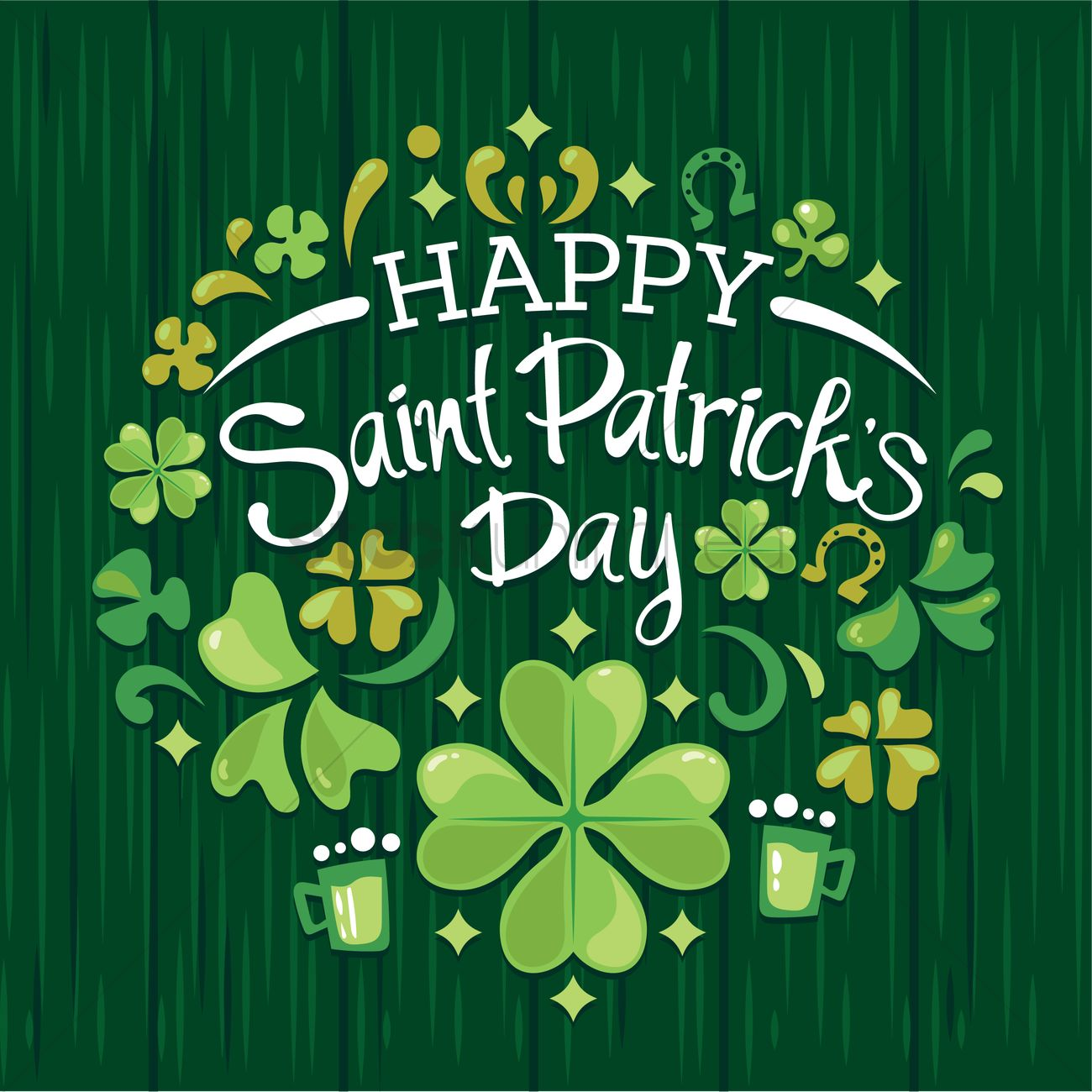 Happy st patricks day Vector Image  1991597  StockUnlimited