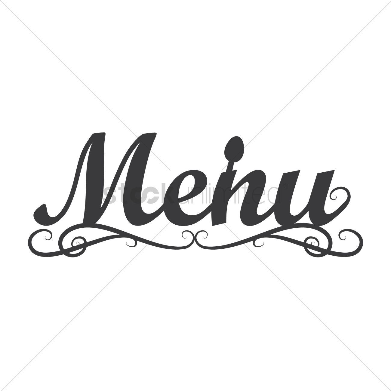 Menu Logo Icon Vector Image