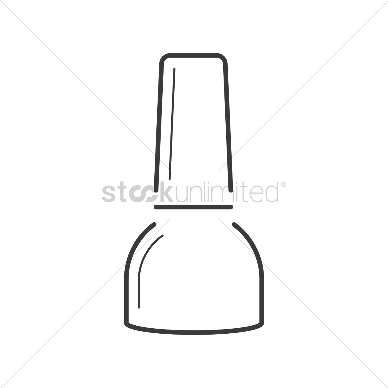 Nail Polish Vector Image