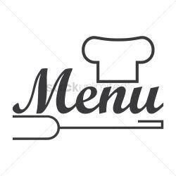 menu restaurant icon vector graphic stockunlimited