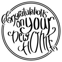 Congratulations On Your New Home Clip Art