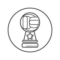 Table Tennis Trophy Trophies Prize Prizes Success