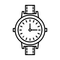 wristwatch clipart icon clip vector digital stockunlimited icons watches simple line