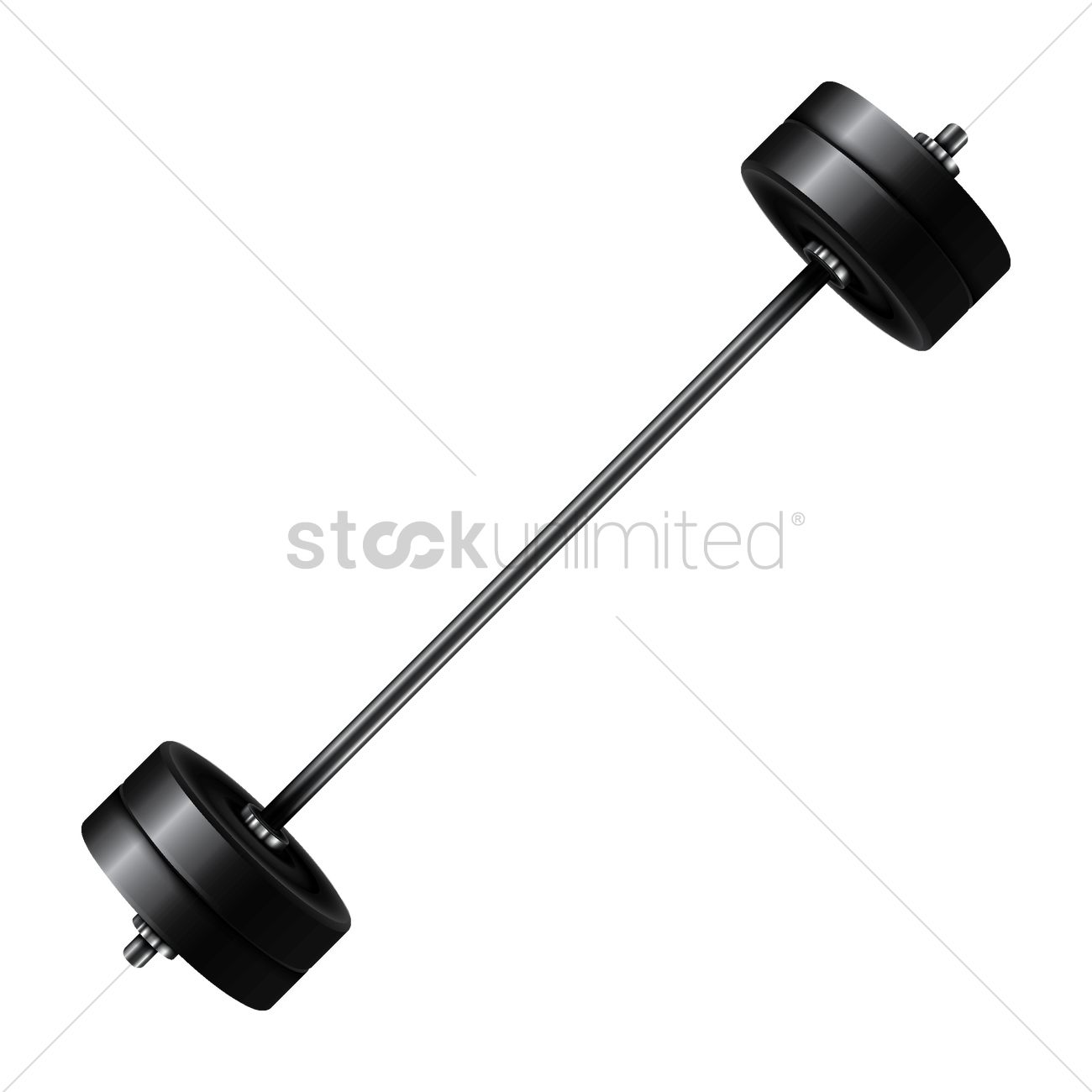barbell vector image 1682342