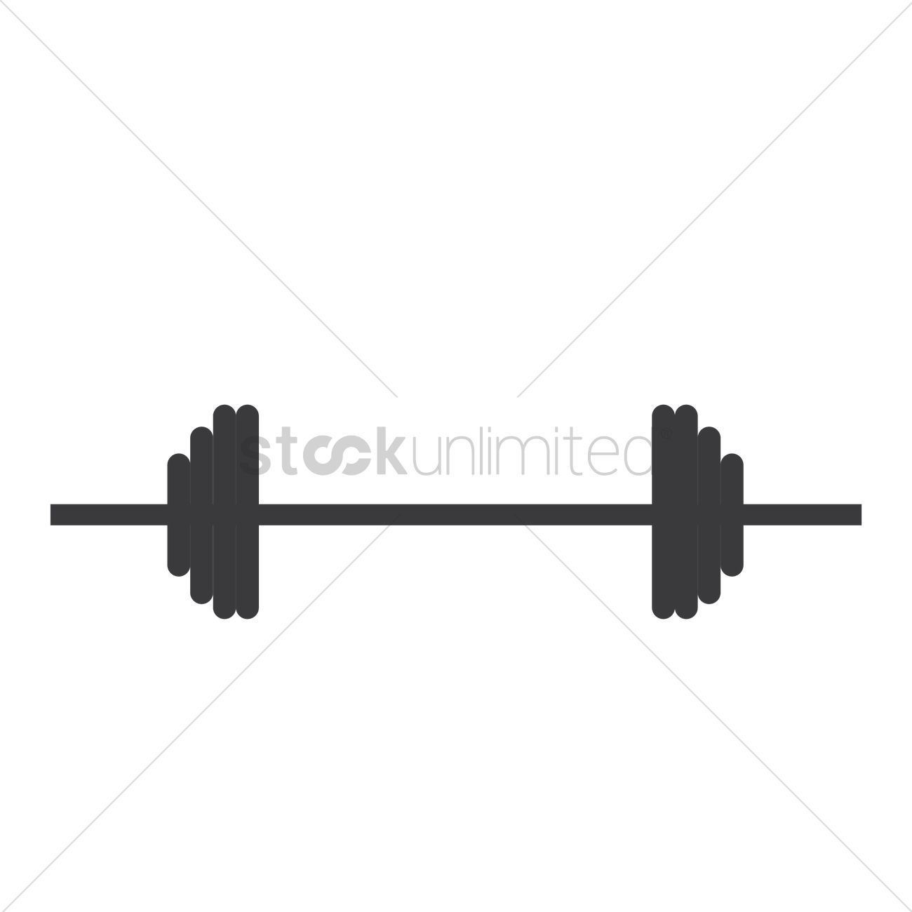 barbell vector image 1809294