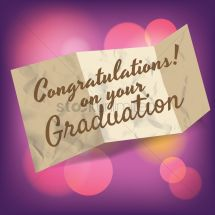Congratulations On Your Graduation Message - Year of Clean Water