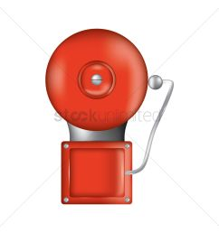 fire alarm vector graphic [ 1300 x 1300 Pixel ]